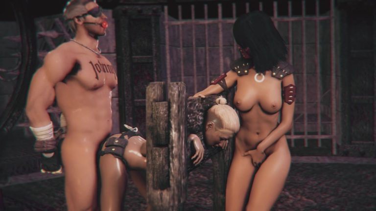 BDSM Simulator Tied Up