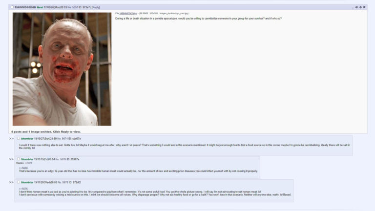 7Chan - Cannibalism