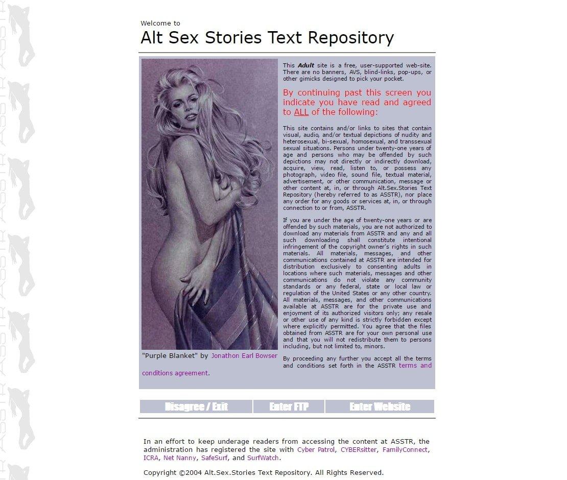 Sex Story Sites - ASSTR
