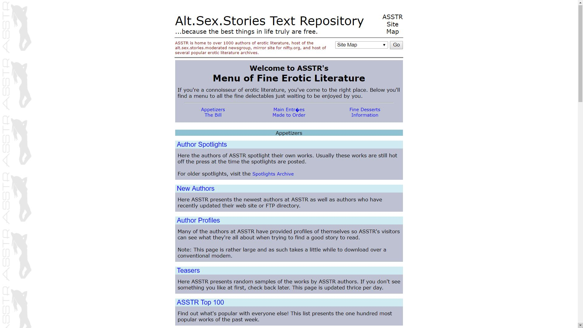 Moderated sex story post archive