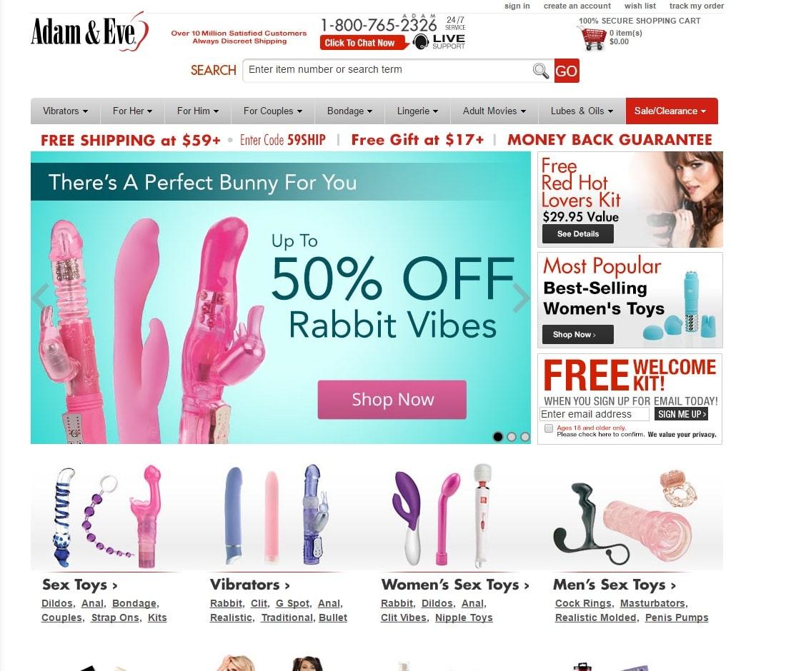 Online Sex Toys Shops - Adam & Eve