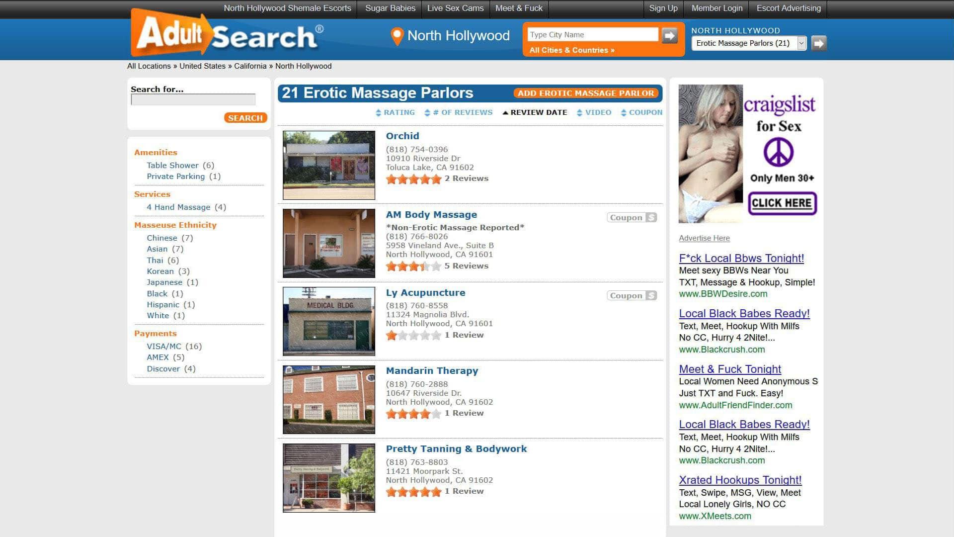 AdultSearch Erotic Massage Parlors