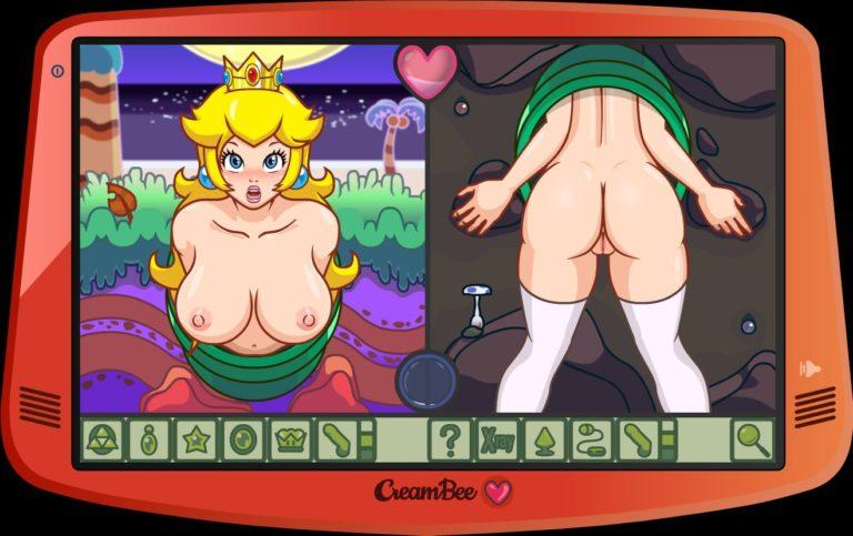 Adult-Sex-Games Creambee Princess Peach