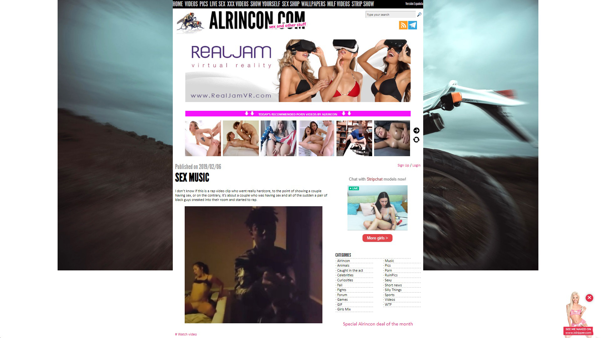 Alrincon Sex Music