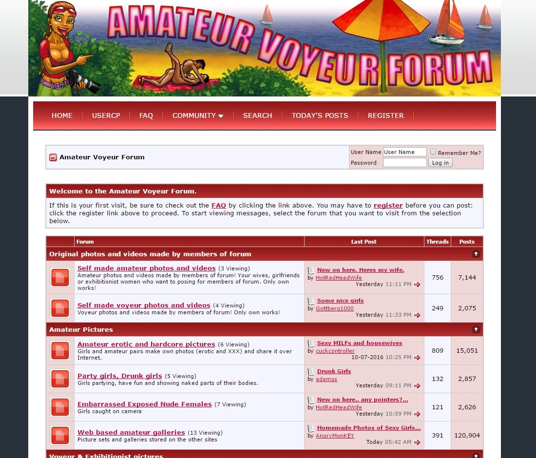 www amateurvoyeurforum com