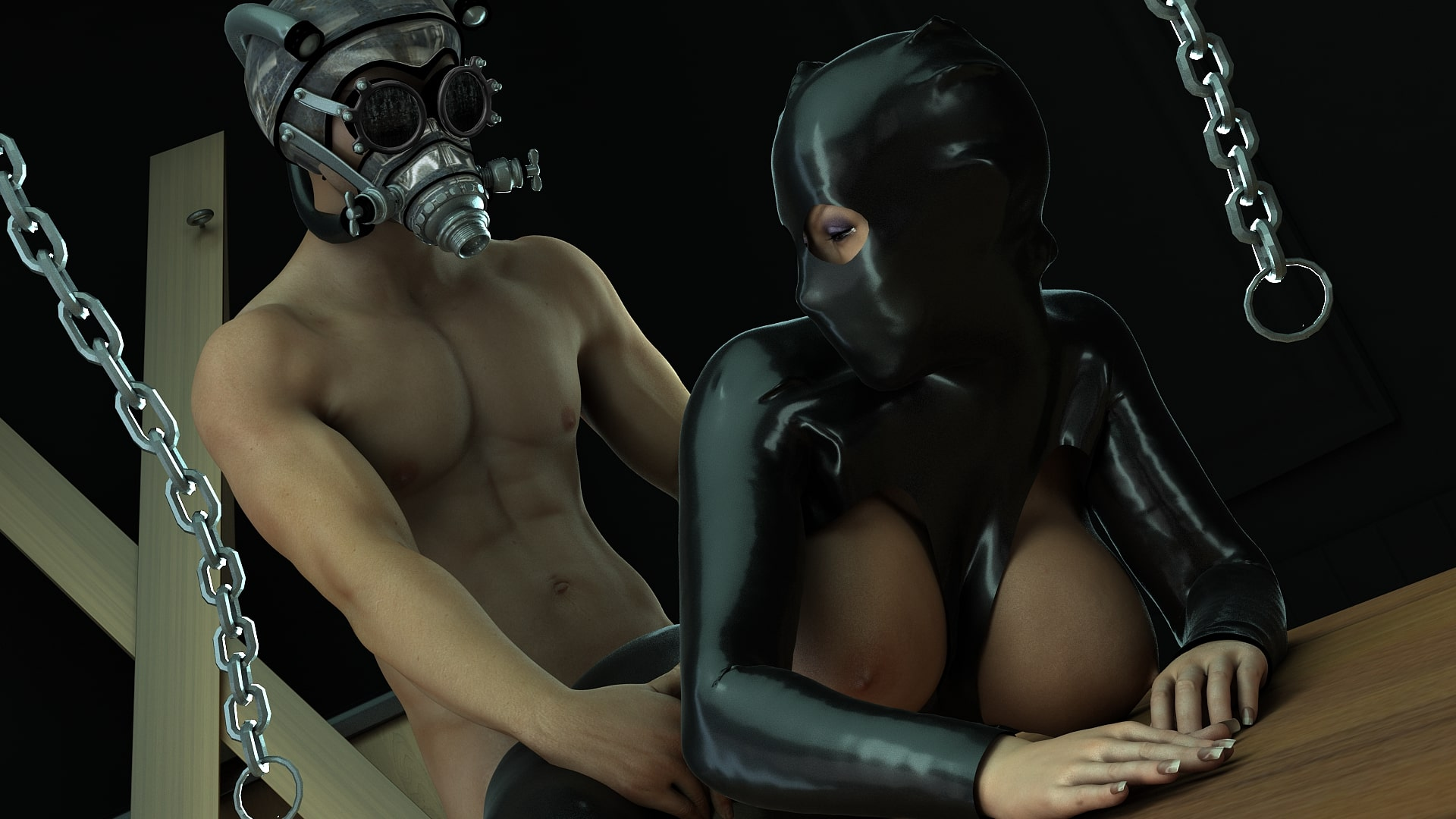 Fetish Gas Mask Sex