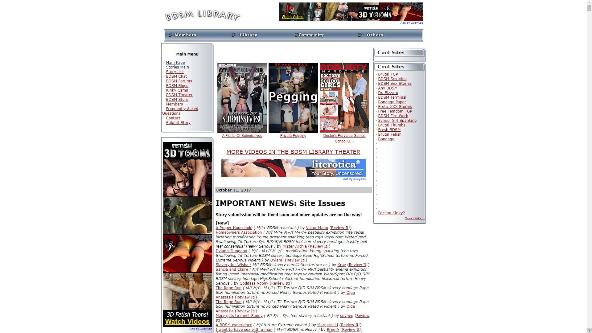 BDSM Library BDSM Sex Stories