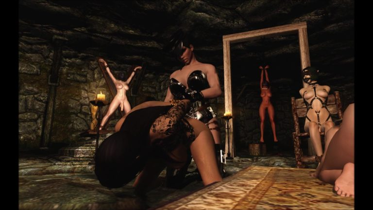 Ass Fuck in Dungeon Chamber