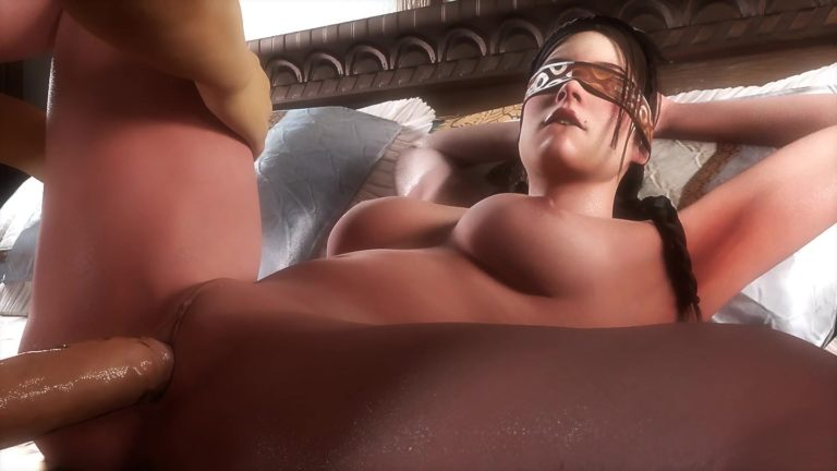 Laid Down Sex Blindfolded