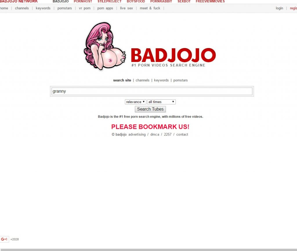 Porn Search Engines - Badjojo
