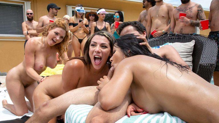 Bang Bros Outdoor Orgy Party