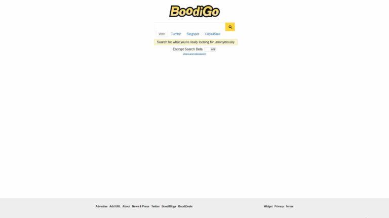 Boodigo Main Page