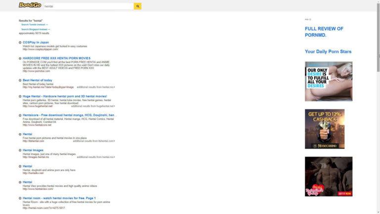 Boodigo Search: Hentai