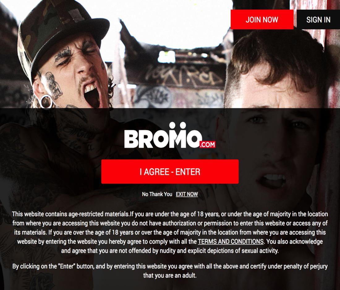 Gay Porn  - Bromo