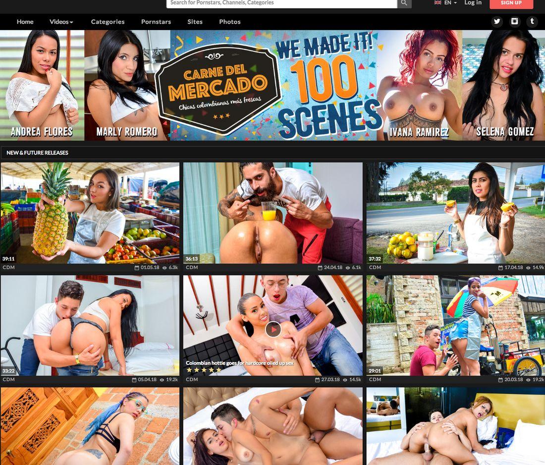 Premium Latina Porn - Carne Del Mercado