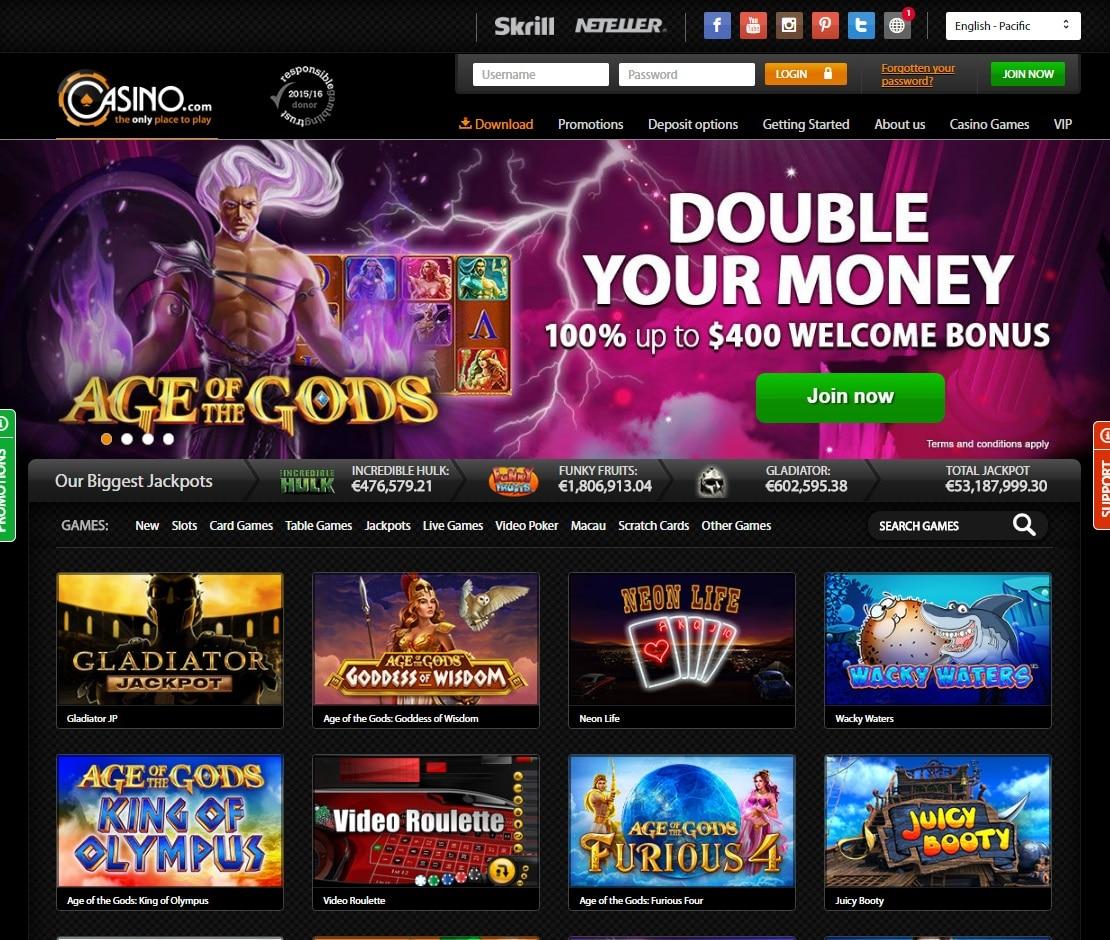 Uncategorized - Casino