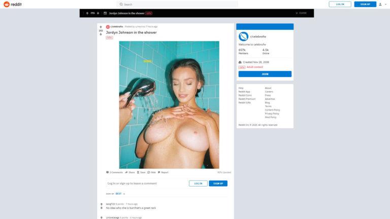 Celebnsfw Reddit