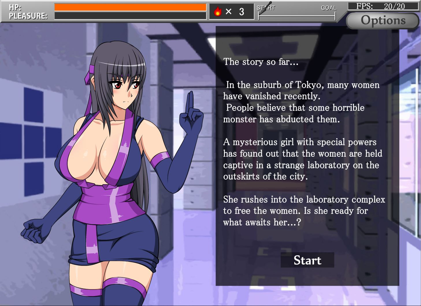 ComDotGame - Shinobi Girl