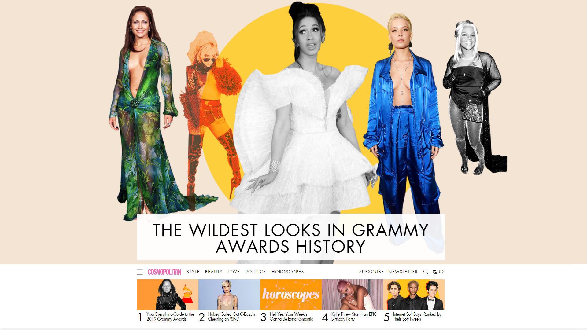 Cosmopolitan Homepage