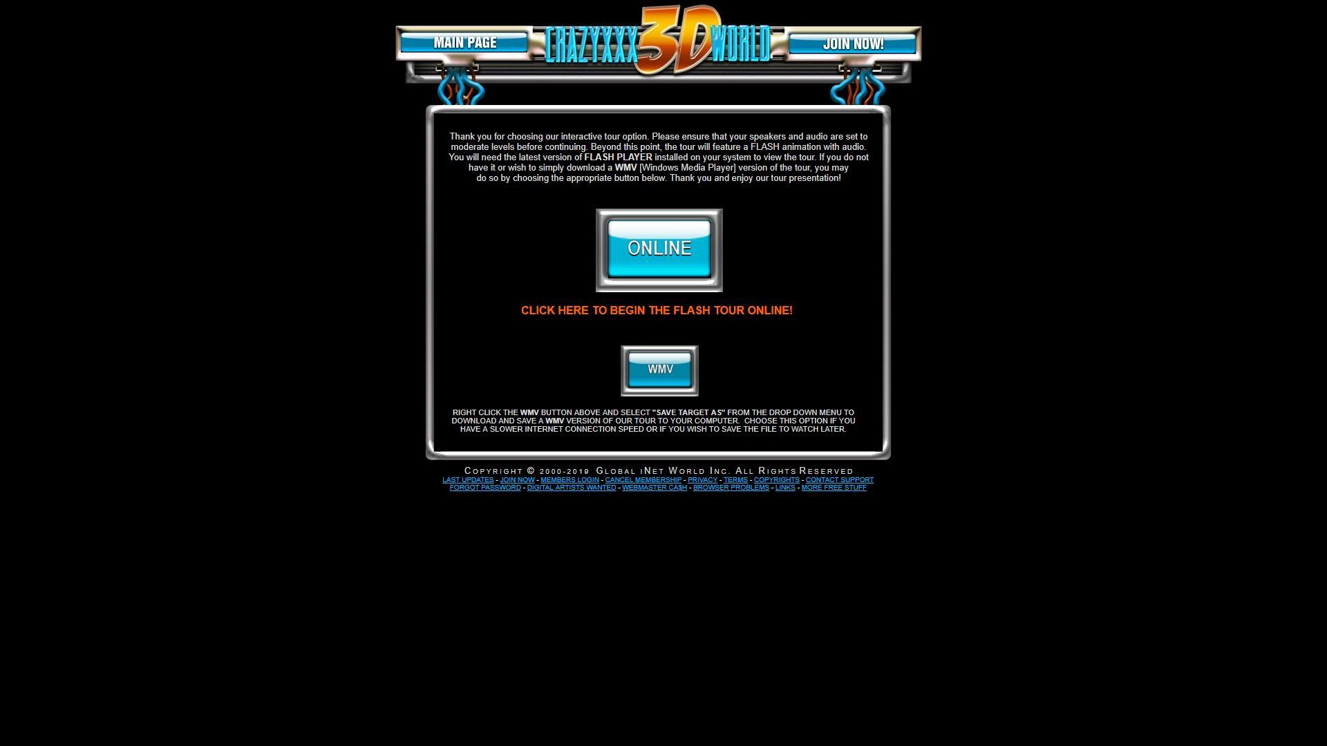 Crazy XXX 3D World Online