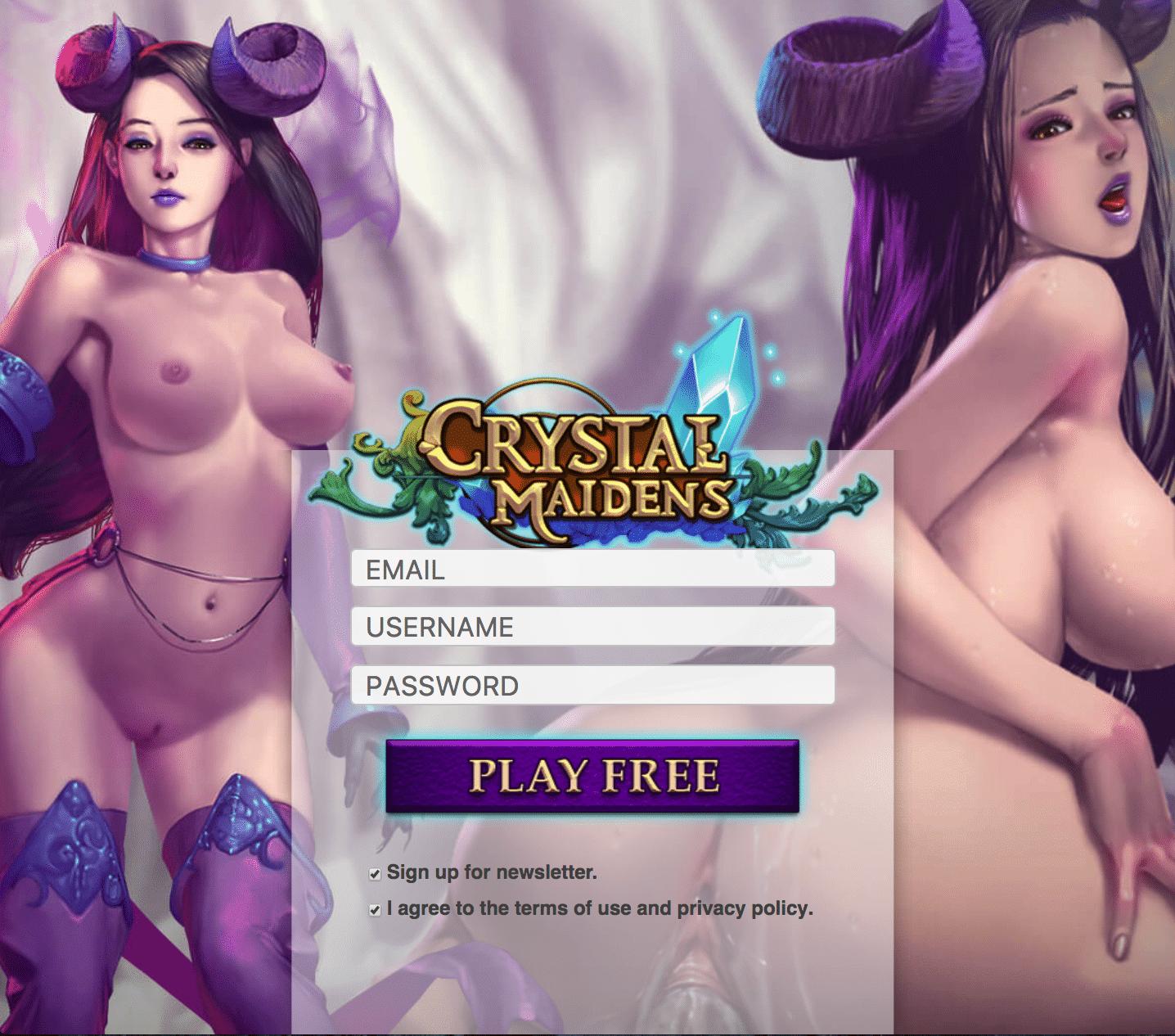 XXX Porn Games - Crystal Maidens