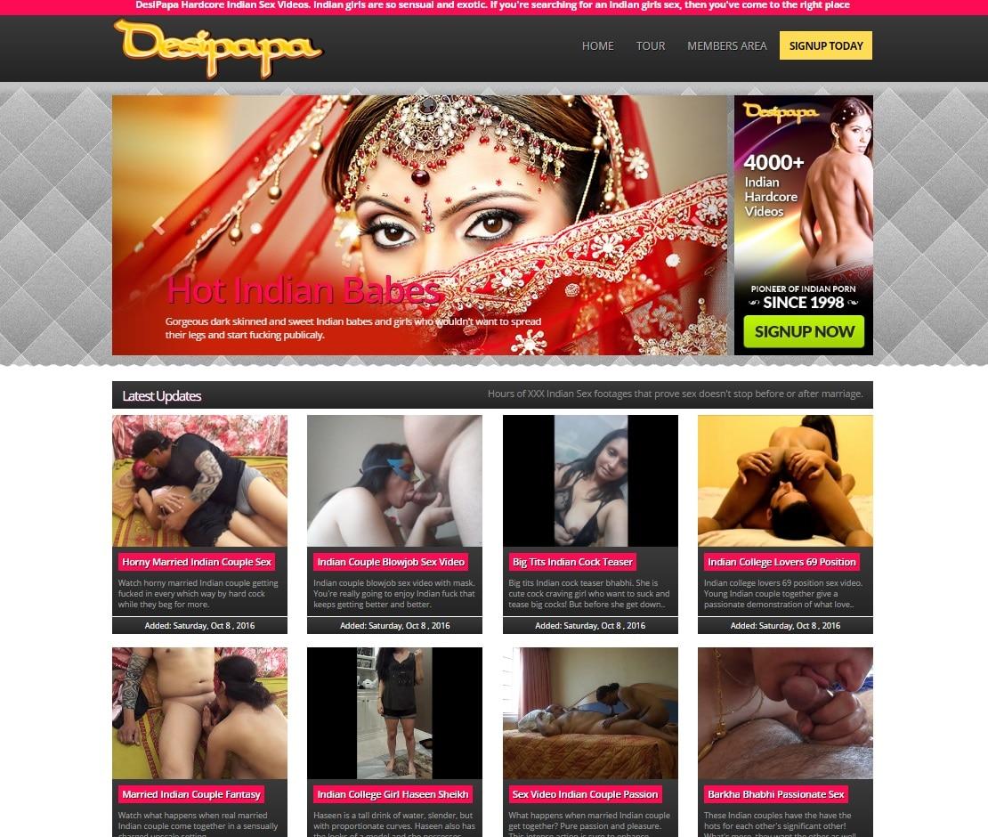 Indian Sex Sites - Desi Papa