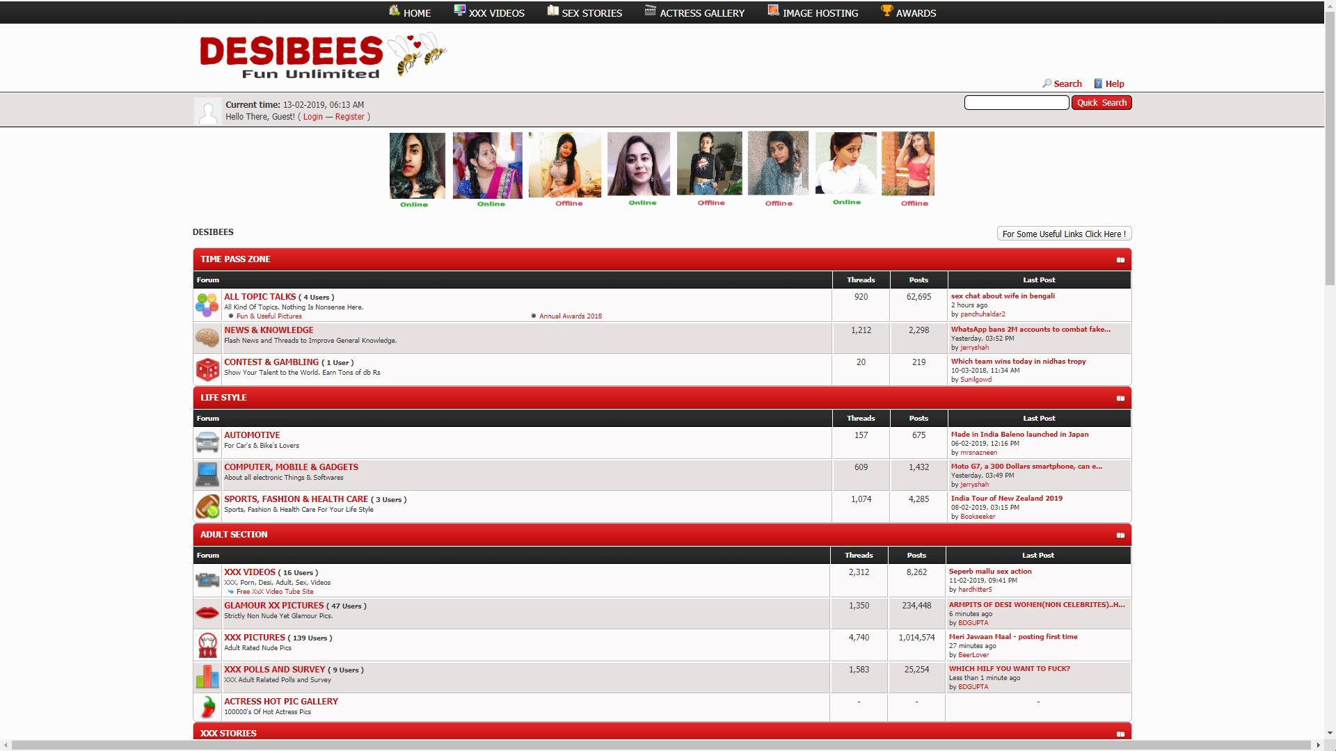Desi Bees Home Page