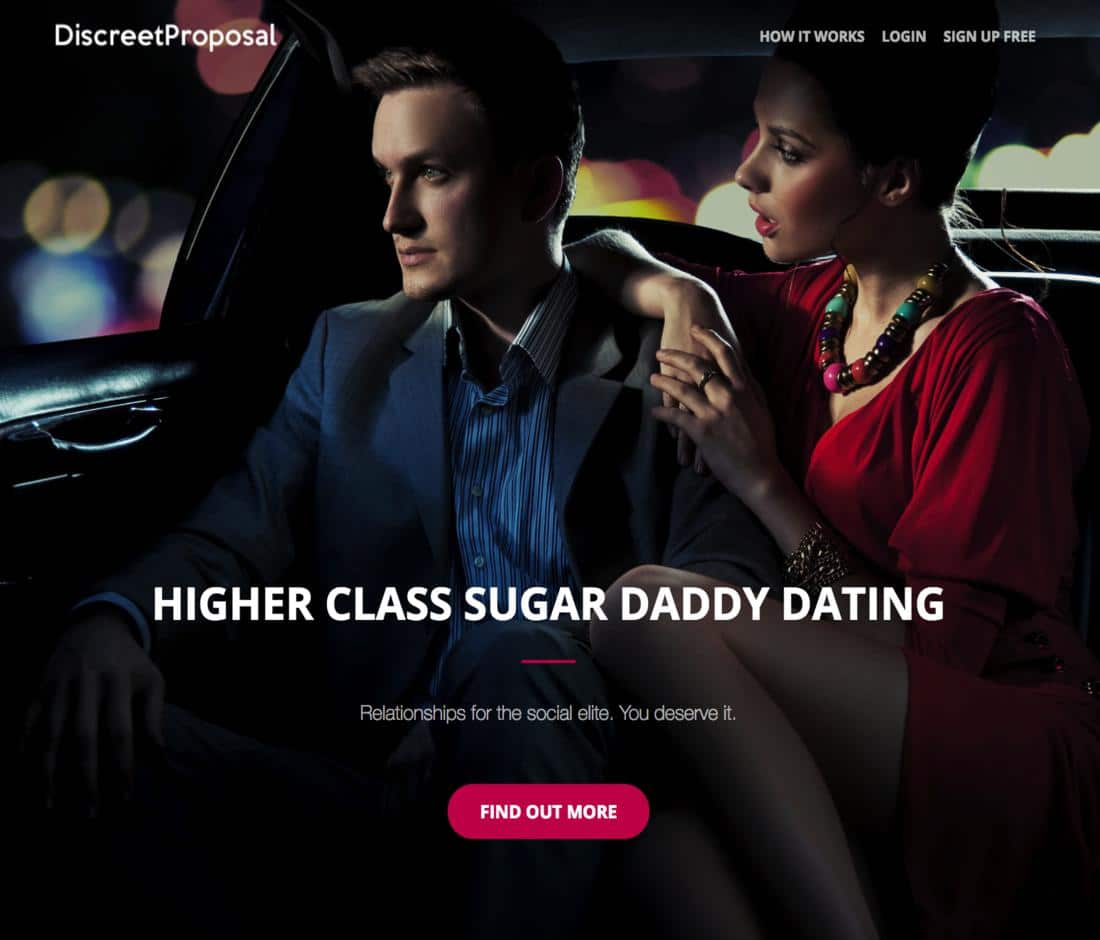 Sugar Daddy Dating - Discreet Proposal