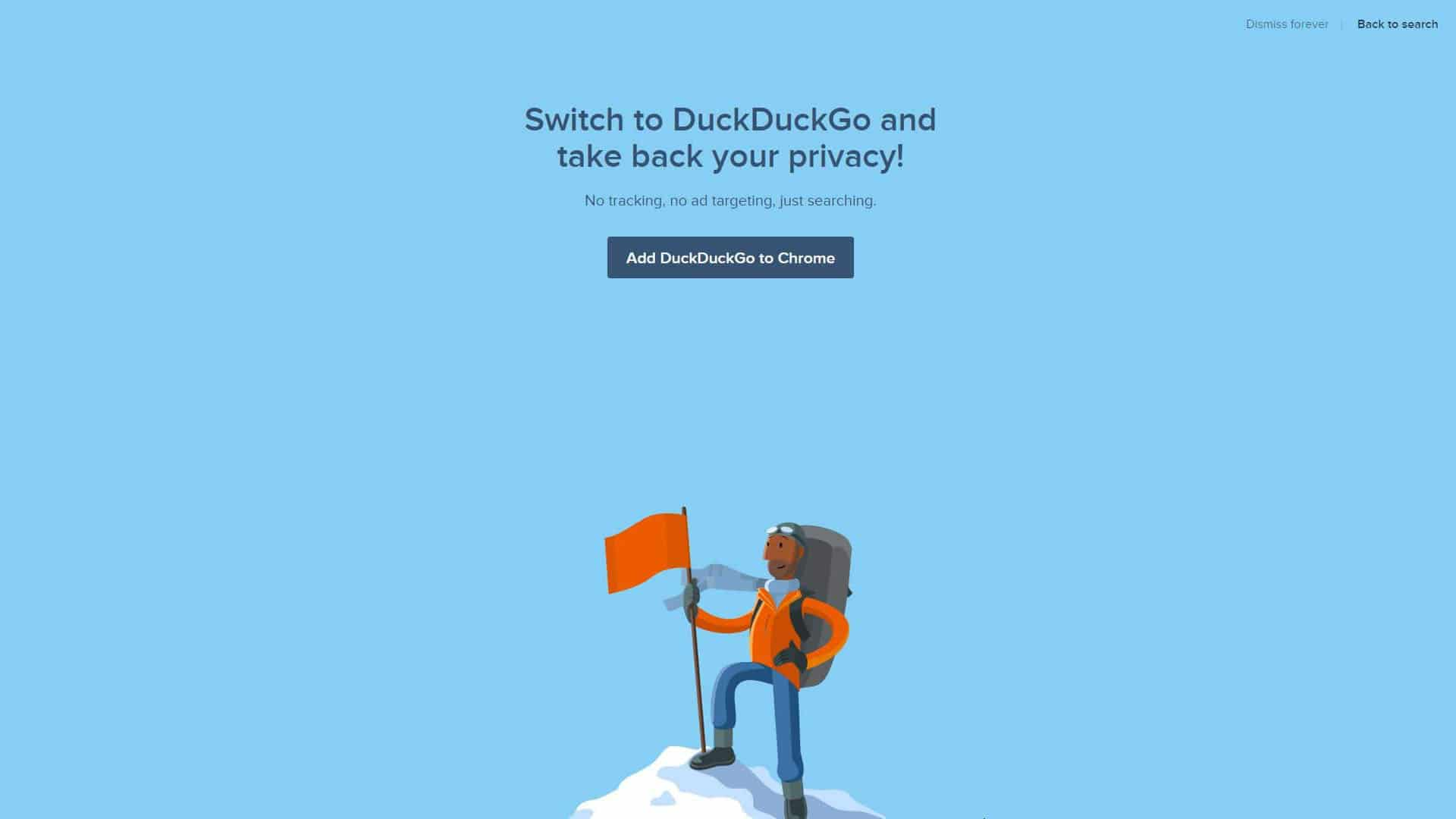Duck Duck Go Switch To DuckDuckGo And Take Back Your Privacy