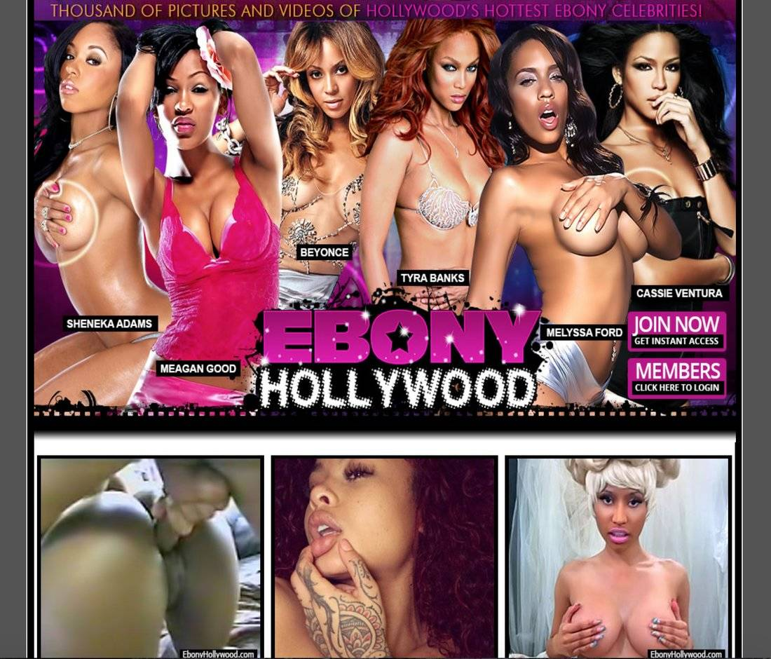 Celebrity Sex Tapes - Ebony Hollywood