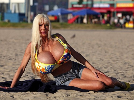 Elizabeth Starr Fake Tits 3