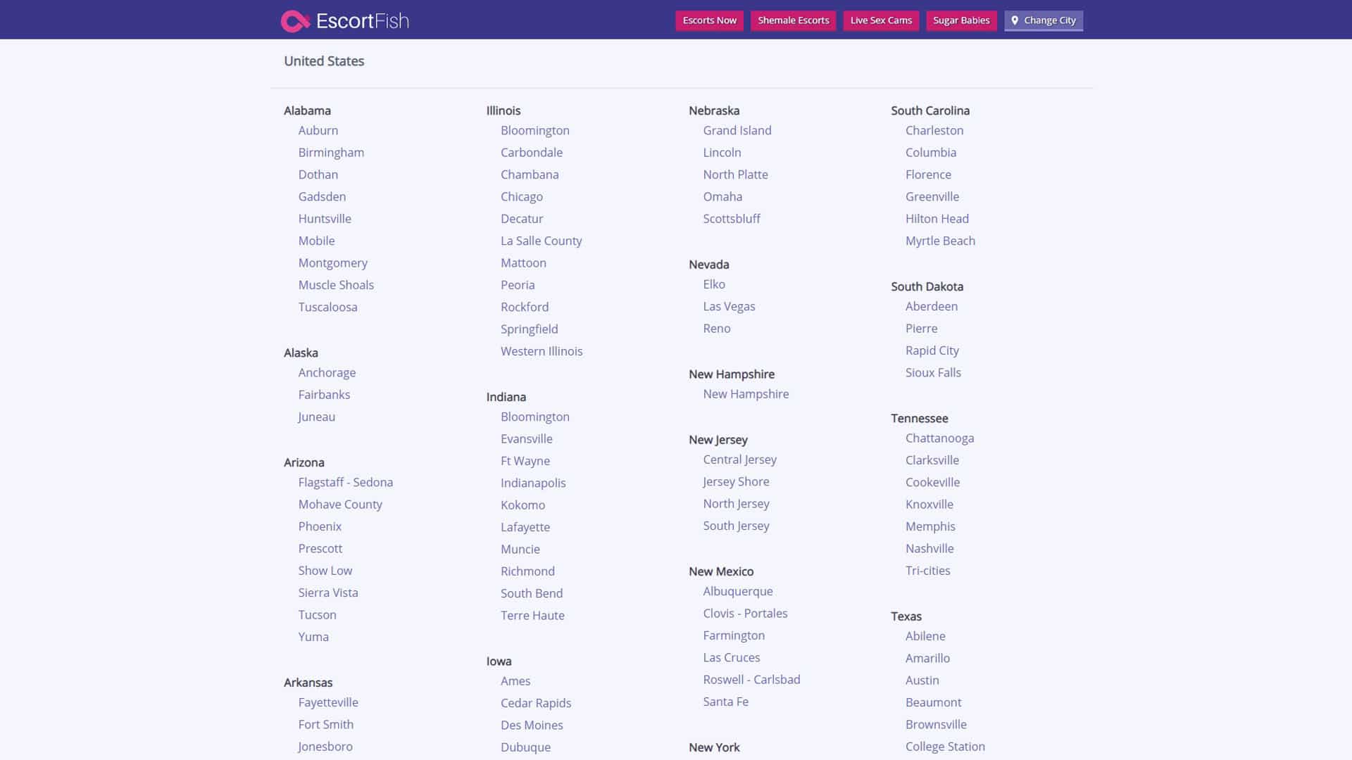 EscortFish Main Page