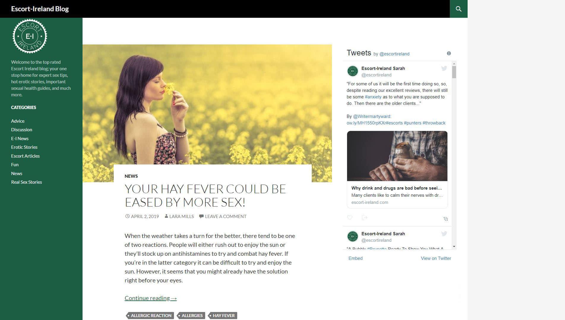 Escort-Ireland Blog