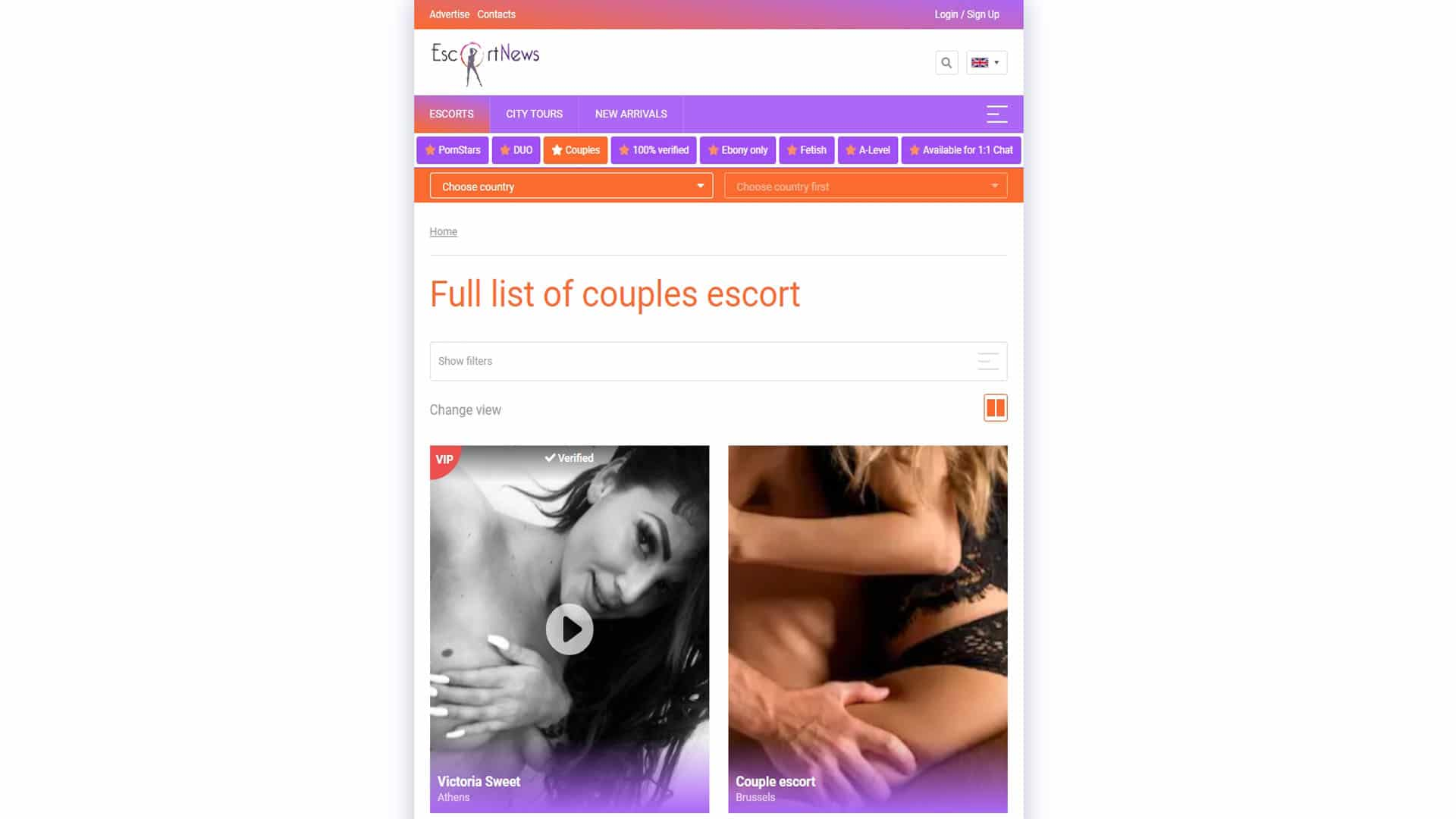 EscortNews Couples