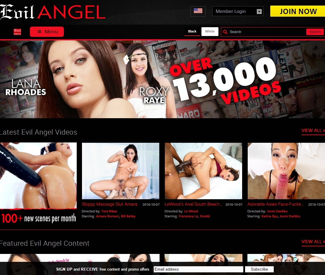 Premium Porn Sites - Evil Angel