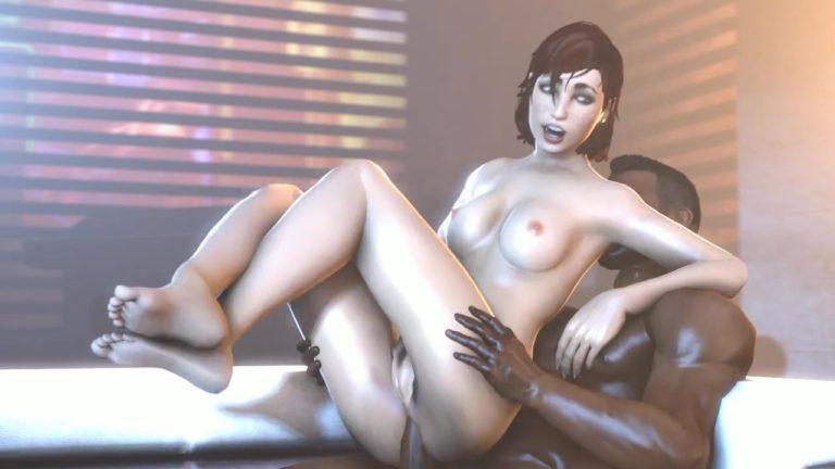 Black Man Shoves Huge Cock Inside Fallout Girl