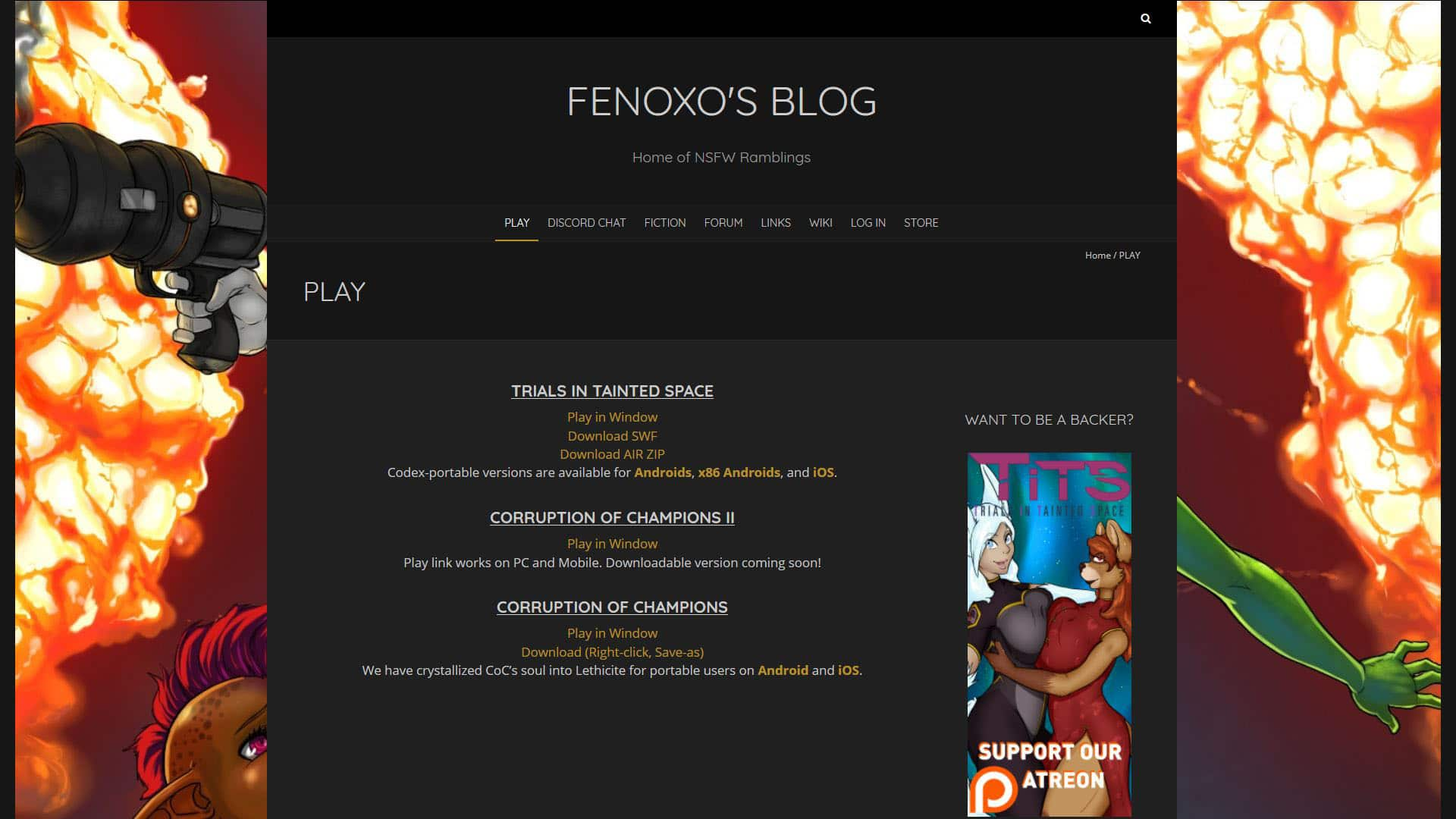 Fenoxo Play