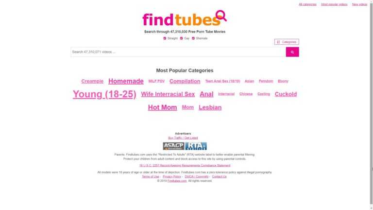 Find Tubes Main Page
