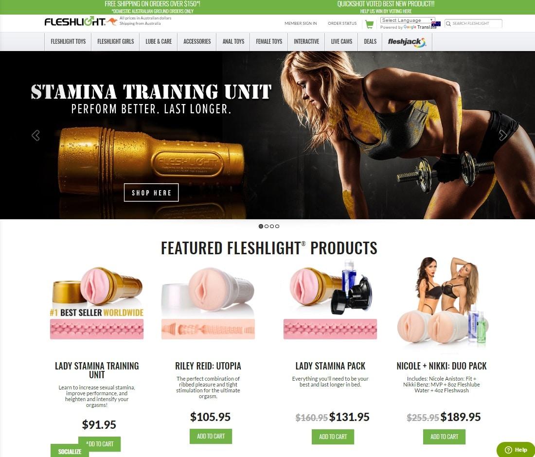 Online Sex Toys Shops - Fleshlight