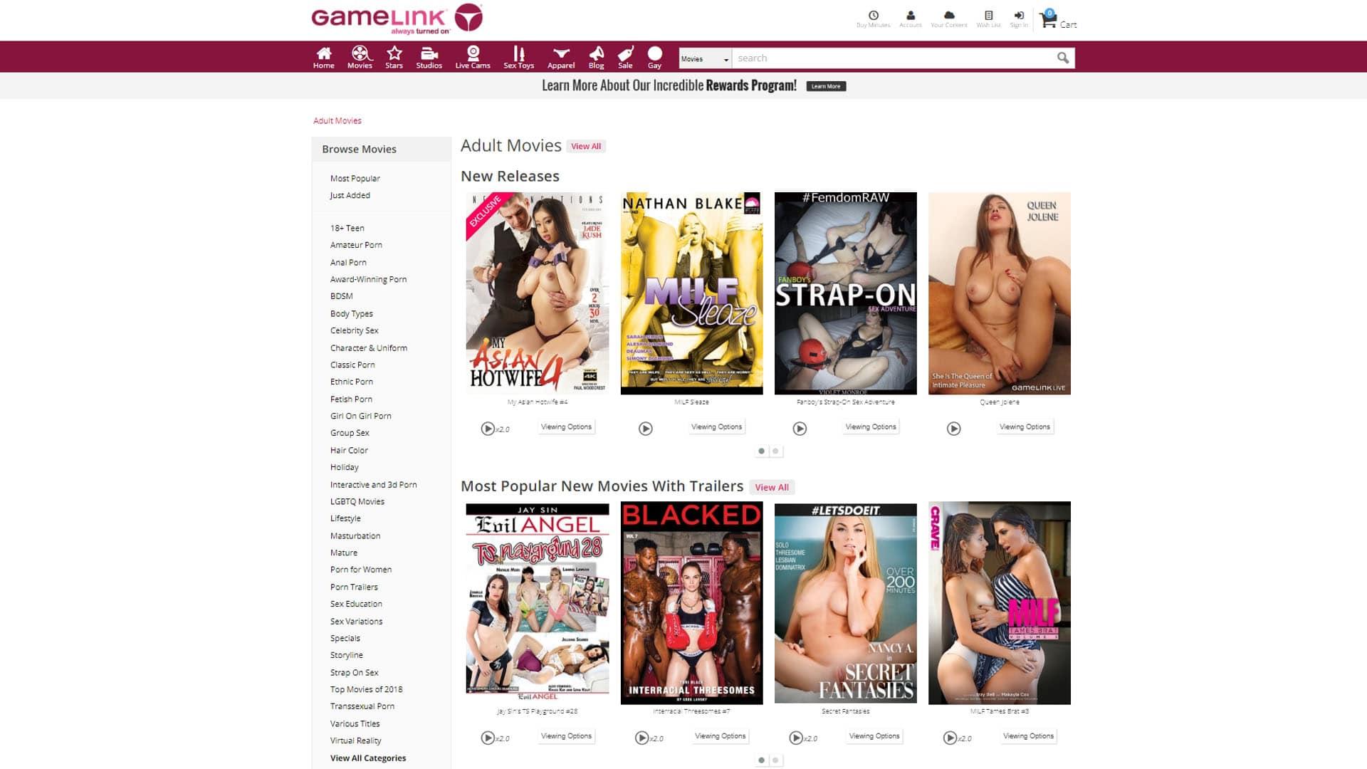 GameLink Movies