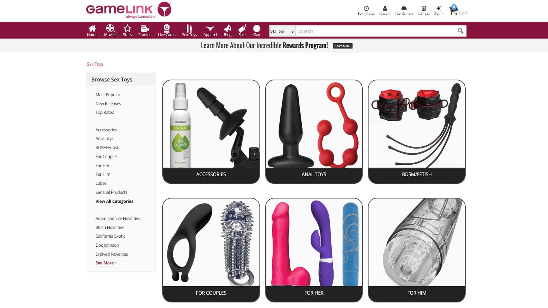 GameLink Sex Toys