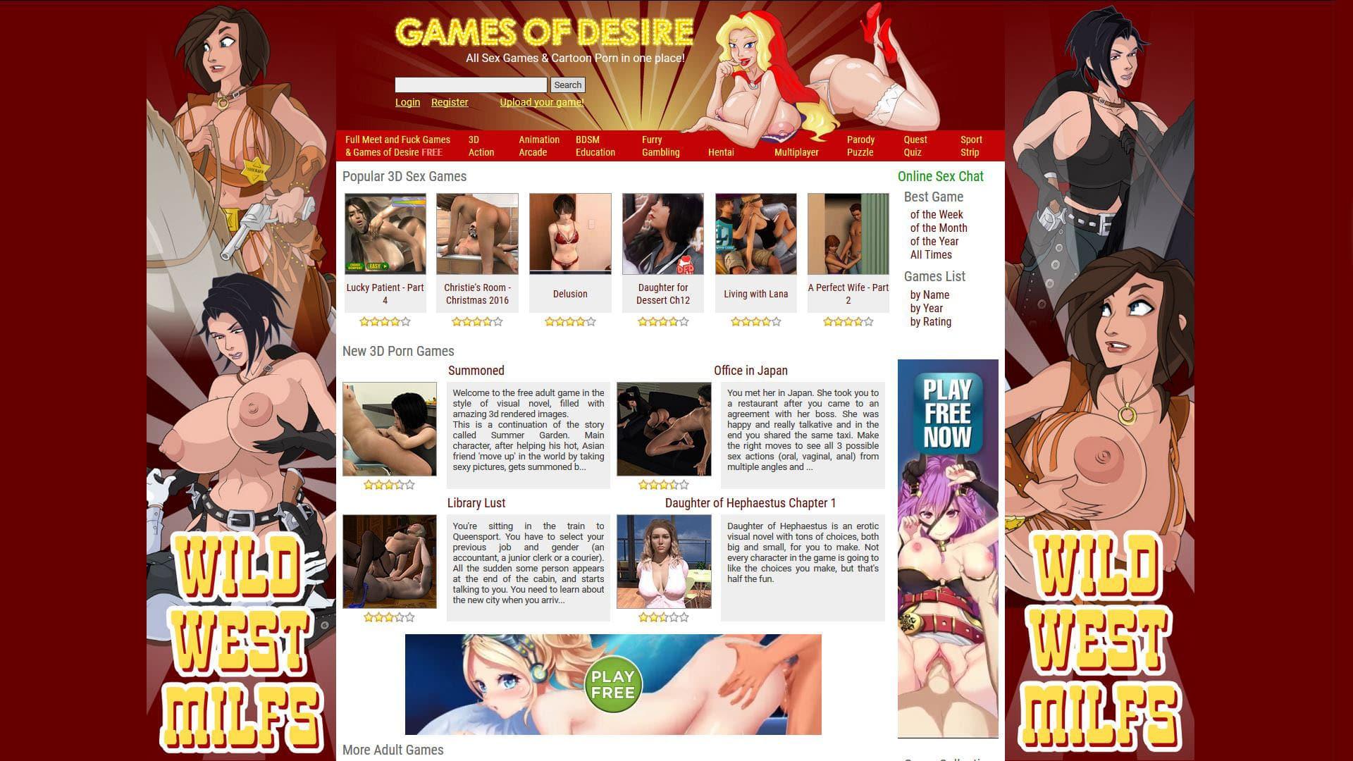 Gamesofdesire 3D Games