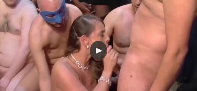 German cougar Sexy Susi is gangbanged