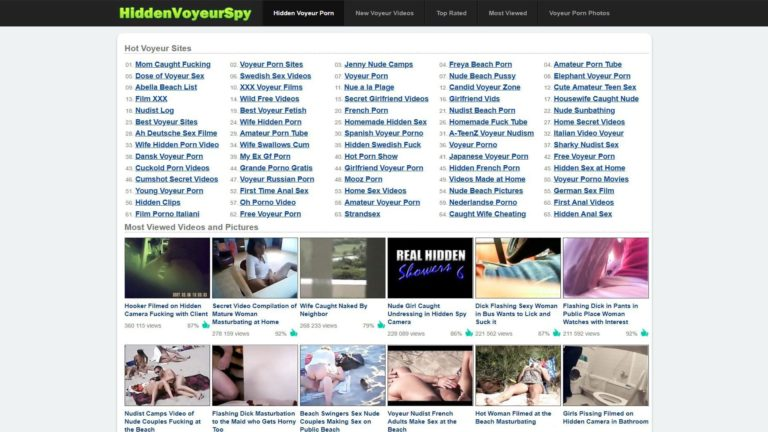 HiddenVoyeurSpy Most Viewed
