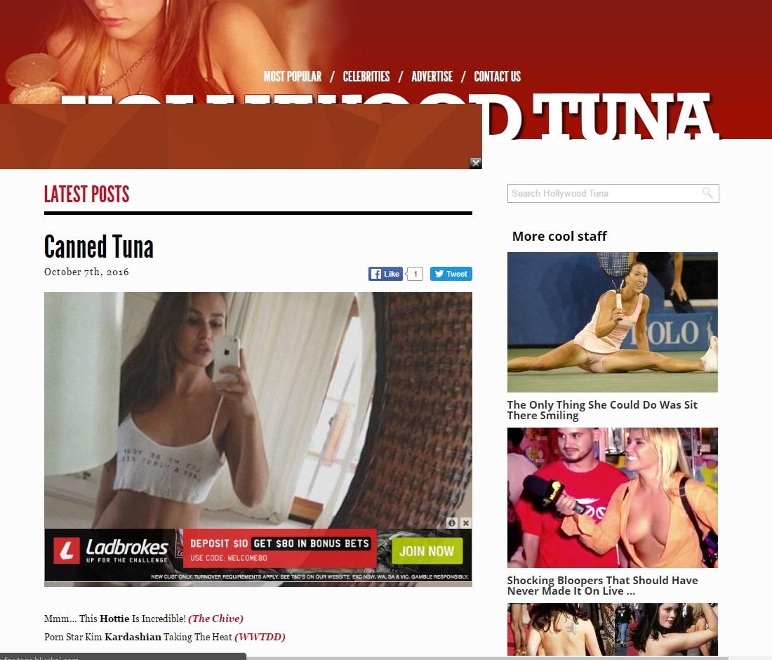 Celebrity Gossip Sites - Hollywood Tuna