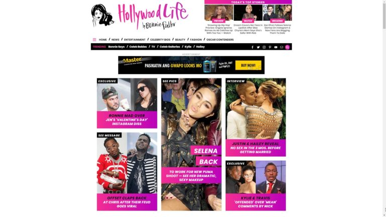 Hollywood Life Home