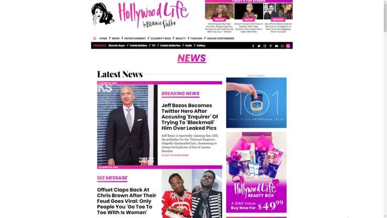 Hollywood Life News
