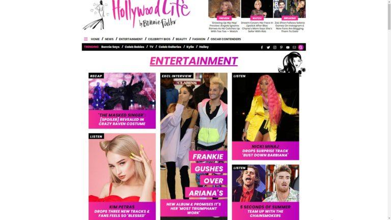 Hollywood Life Entertainment