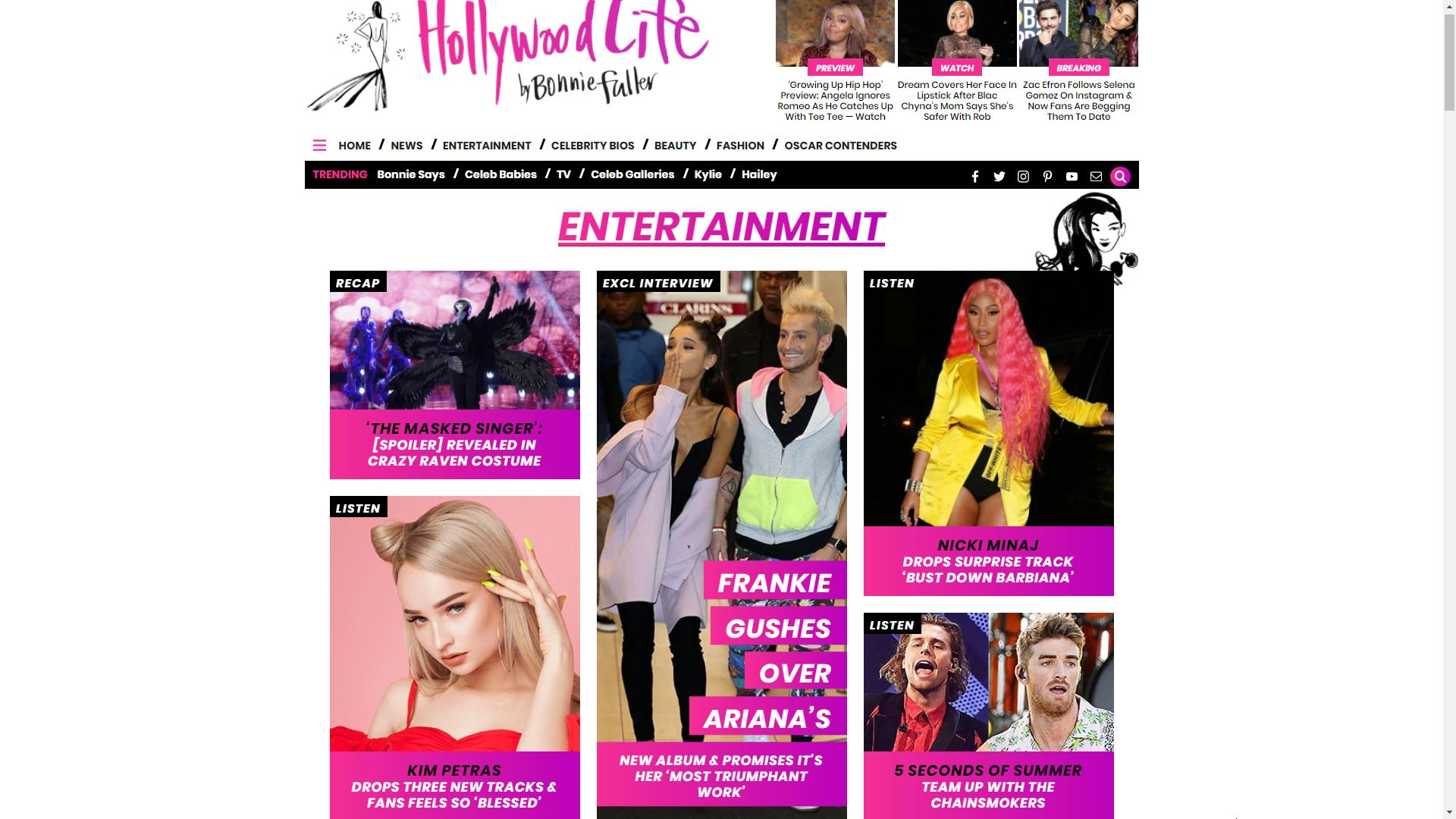 Hollywood Life Entertainment