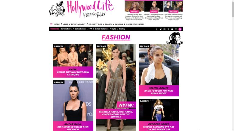 Hollywood Life Fashion